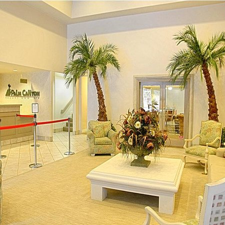 Palm Canyon Resort &amp; Spa: Lobby