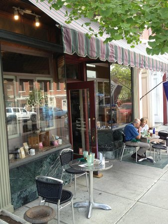 Hudson, État de New York : Outside seating