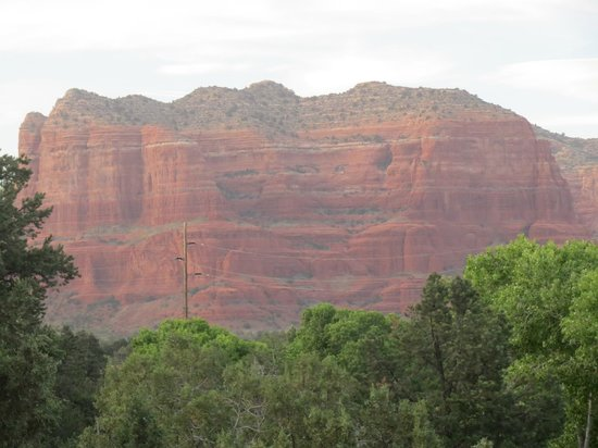 Las Posadas of Sedona: View from the balcony.
