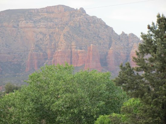 Las Posadas of Sedona: View from balcony