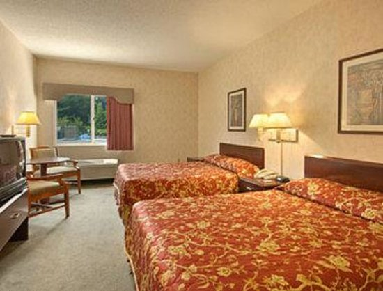 Glendale Heights, IL : Standard Two Double Bed Room