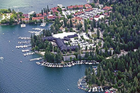 Lake Arrowhead, Californien: Summer Aerial Photo