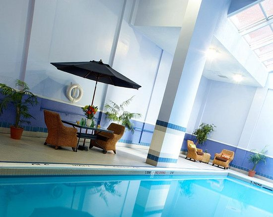 Hotel Indigo: Kids of all ages enjoy our indoor pool with whirlpool