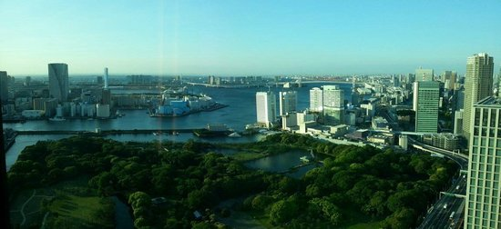 Conrad Tokyo: Fantastic view from the room