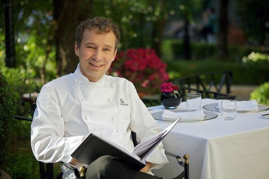 Aldrovandi Villa Borghese: Mr. Oliver Glowig Two Starred Michelin Chef