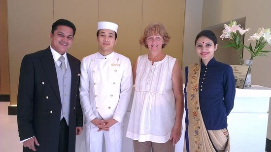 The Oberoi, Mumbai : Reception Staff - always friendly and helpful 