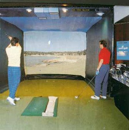 Norderstedt, Allemagne : Indoor Video Golf 