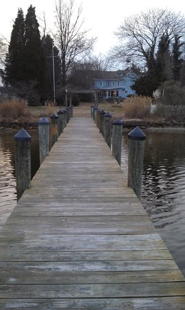 Solomons, MD: B&amp;B viewed from the dock
