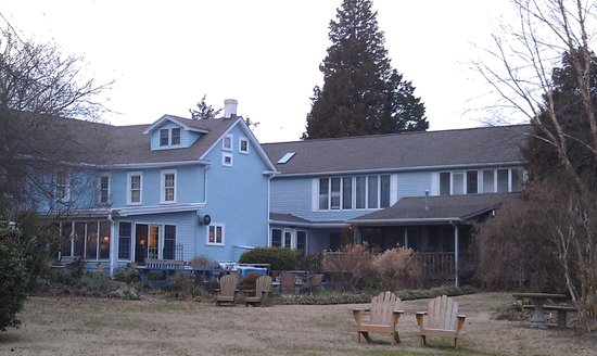 Solomons, MD: The back of Back Creek B&B