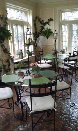 Hanover, Pensylwania: Sun room/ breakfast area
