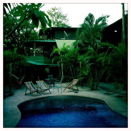 Playa Grande Inn: perfect pool for when its too hot on the beach