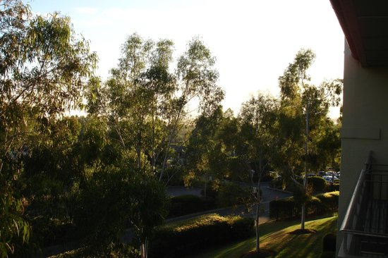 Chirnside Park, Australia: View from the balcony