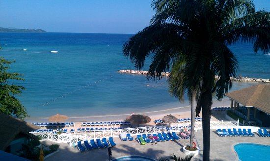 Sunset Beach Resort, Spa &amp; Water Park: view from our room