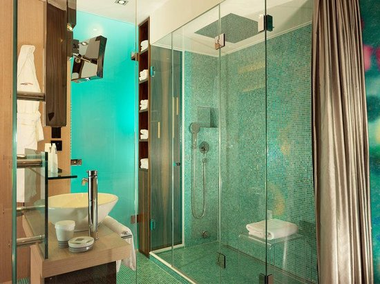 Swissotel Metropole Geneva: SPA Shower new Signature room
