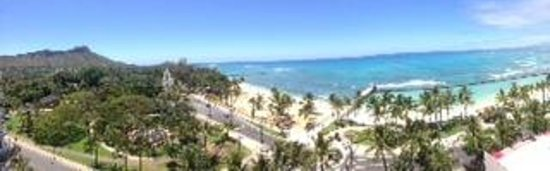 Park Shore Waikiki: View from our room