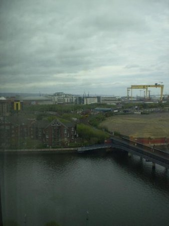 Hilton Belfast: View on a dull Saturday