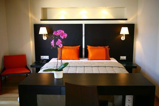 O&B Athens Boutique Hotel: Guest Room