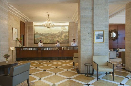 Copacabana Palace Hotel by Orient-Express: Reception