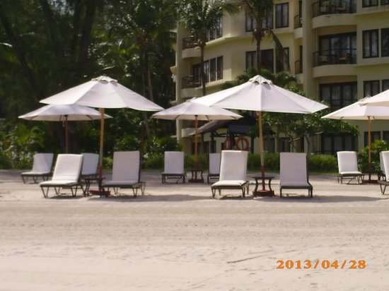 Tanjung Rhu Resort: plage amnage