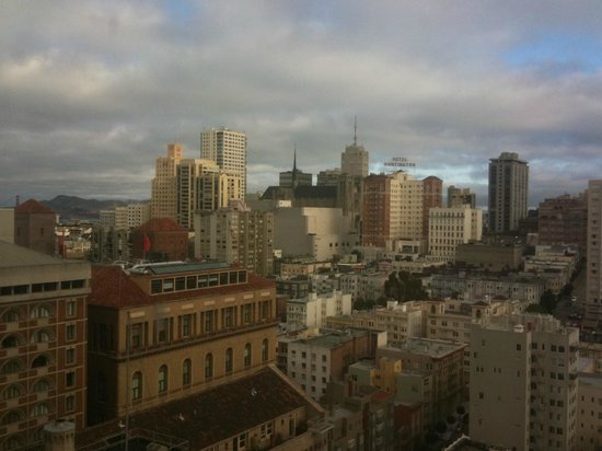 The Westin St. Francis San Francisco on Union Square: GGB on left