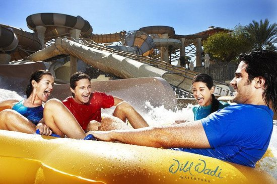 Al Qasr at Madinat Jumeirah: Wild Wadi Tantrum Alley