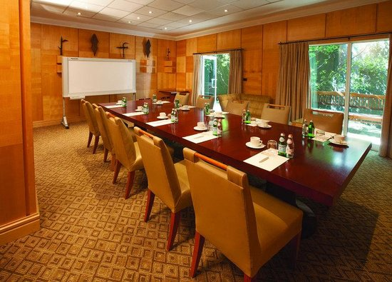 Saxon Boutique Hotel, Villas and Spa: Saxon Boardroom