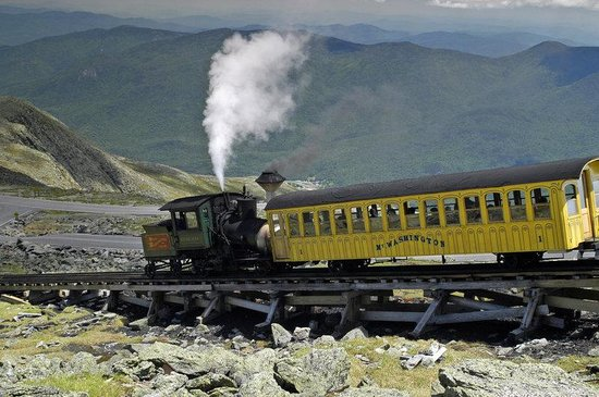 The Manor on Golden Pond: Cog Railway