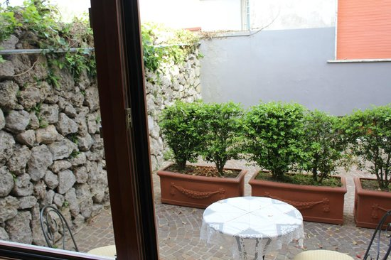 Agerola, : A private terrace