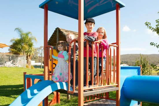 Albury, Australia: Children's Playground - a real hit with the kids