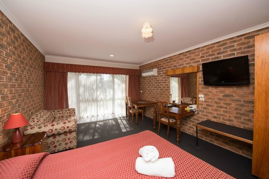 Albury, Australia: Queen Room - great views from balcony