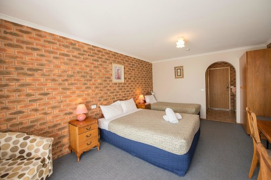 Albury, Australien: Twin Room - wake up to the birds, not the traffic