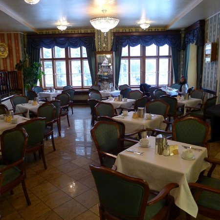 Cafe Mozart area / attached to Grand Hotel Praha