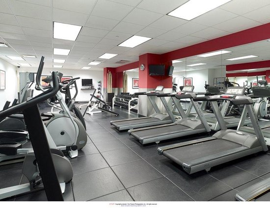 Central Loop Hotel: Fitness Room