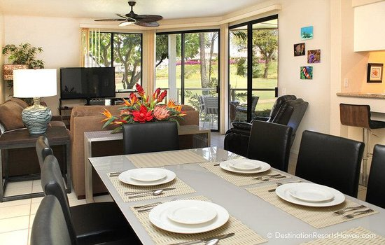 Wailea Grand Champions Villas: 3BR_GolfView_Dining