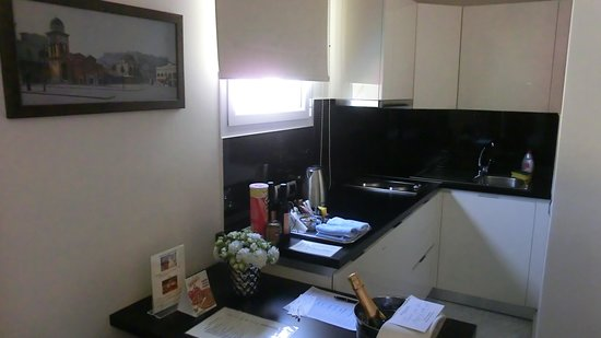 AVA Hotel Athens: REGULAR SUITES Kitchenette