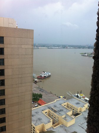 Hilton New Orleans Riverside: View