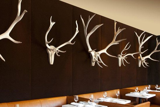Waldorf Astoria Park City: Powder Dining Area