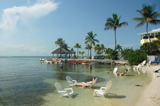 Marriott Key Largo Bay Beach Resort: Strand