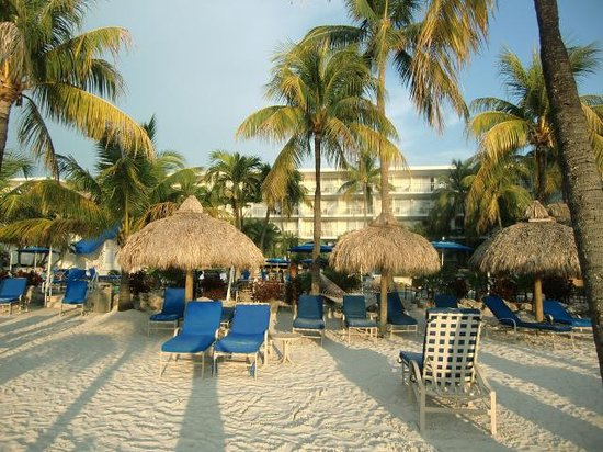 Marriott Key Largo Bay Beach Resort: Strand2