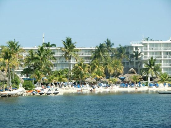 Marriott Key Largo Bay Beach Resort: Hotel und Strand