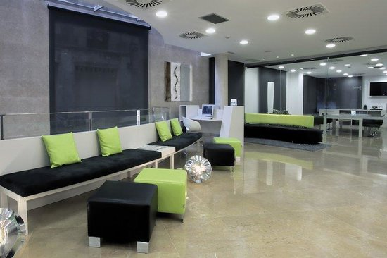 Hesperia Ramblas : Lobby 
