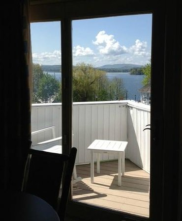 The Wolfeboro Inn: Excellent, breathtaking view