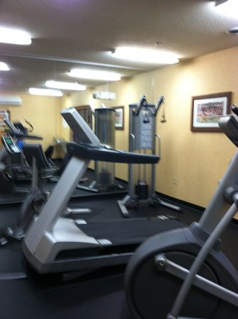 Donegal, PA: HIX fitness room
