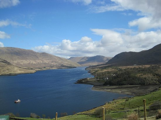 Leenane, Irland: Killary Sheep Farm - view
