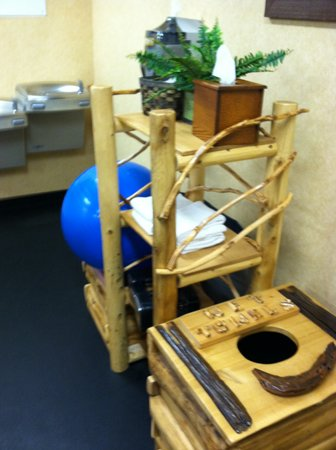 Donegal, PA: HIX fitness room towels and equipment