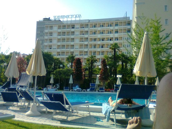 Grand Hotel Trieste &amp; Victoria: piscina termale raffreddata