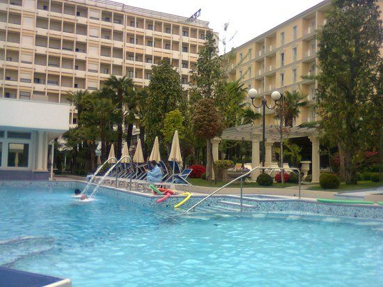 Grand Hotel Trieste &amp; Victoria: piscina termale