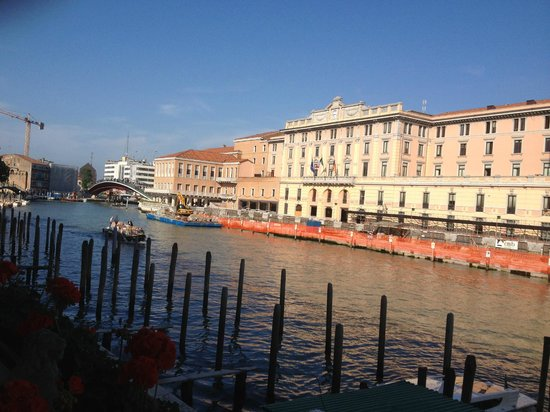 Hotel Carlton on the Grand Canal: View from our room.