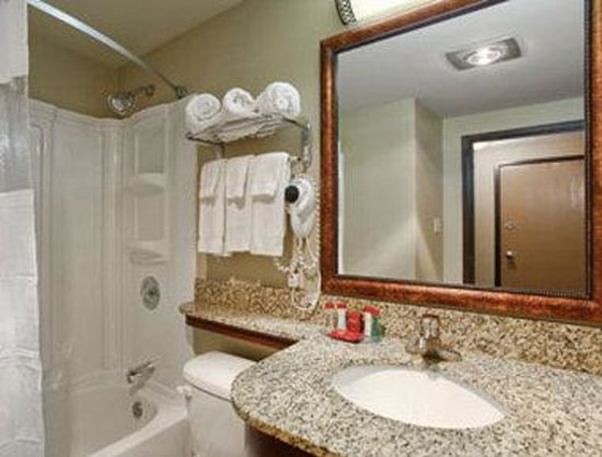 Ramada Grand Dakota Lodge: Bathroom