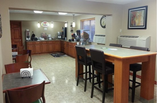 Independence, Missouri: Breakfast Area